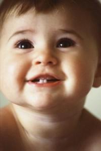 premières dents bébé